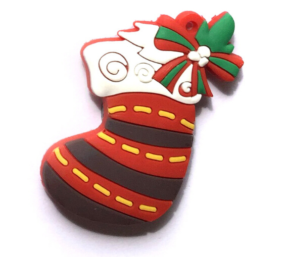 Christmas Stocking PVC Soft Fridge magnets